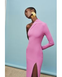 df2db3799e0e0d Solace London - Nadia Maxi Dress Lilac - Lyst