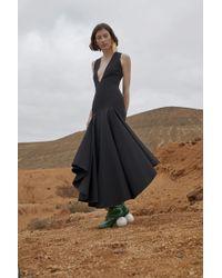 Solace London - Santana Dress Black - Lyst