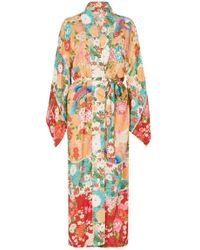 Spell & The Gypsy Collective | Spell Delilah Patchwork Maxi Kimono | Lyst