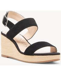 905223f71bde Lyst - Sole Society Analisa Platform Wedge in Black