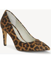 1.STATE - Hedde Genuine Calf Hair Pump - Lyst