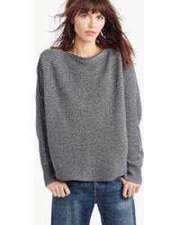 1.STATE - Off Shldr Zip Neckline Sweater - Lyst