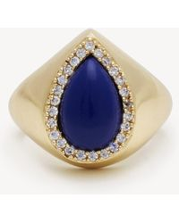 Sole Society - Statement Stone Ring - Lyst