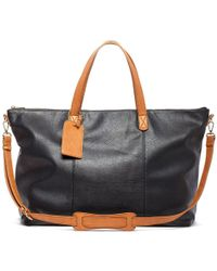 Sole Society - Candice Oversize Travel Tote - Lyst