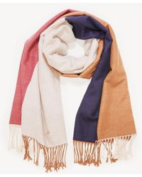 Sole Society - Oversize Checkered Scarf - Lyst