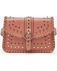 Lyst - mali + lili Mali + Lali Lana Faux Fur   Vegan Leather Belt ... 6df1857b92341