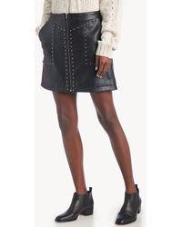 Greylin - Luca Vegan Leather Skirt - Lyst