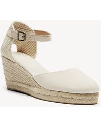 Soludos - Closed-toe Midwedge Wedge - Lyst