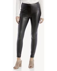 Vince Camuto - Stretch Pleather Pull On Pant - Lyst