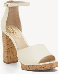 Vince Camuto - Ciestie Platform Sandal - Lyst