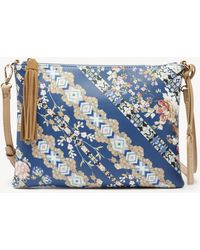 Sole Society - Issia Clutch Printed Pouch - Lyst