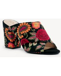 Sole Society - Luella Criss Cross Mule - Lyst