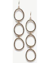 Sole Society - Triple Drop Earrings - Lyst
