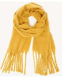 Sole Society - Oversize Blanket Scarf With Fringe - Lyst
