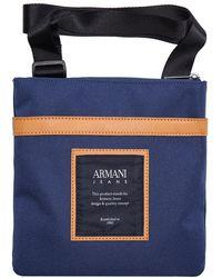 Armani Jeans - Logo Cross Body Bag - Lyst