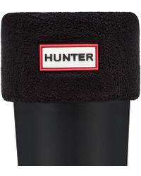 Hunter | Short Fleece Welly Socks | Lyst