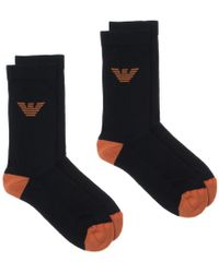 Emporio Armani - Spugna Tennis Socks - Lyst
