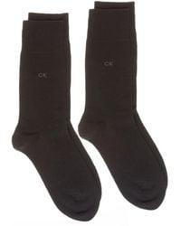 Calvin Klein - Cart 2 Pack Socks - Lyst