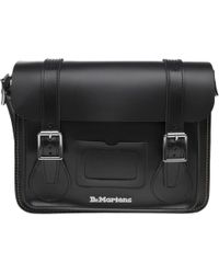 "Dr. Martens - 11"" Leather Satchel - Lyst"