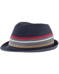 Barbour | Tain Striped Trilby Hat | Lyst