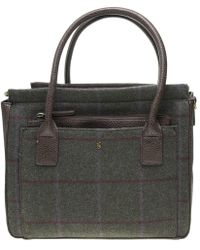 Joules - Day To Day Tweed Handbag - Lyst