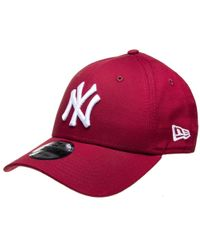 e5e4a1354a9 Ktz New York Yankees 9Forty Cap S-M - For Men in Red for Men - Lyst