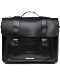 Dr. Martens - Leather Satchel 15 Inch - Lyst