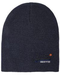 Superdry - Orange Label Beanie - Lyst