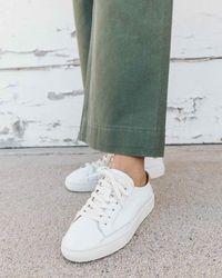 Soludos - Ibiza Leather Sneaker - Lyst