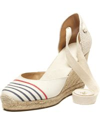 0d697d13b23 Soludos - Provence Striped Tall Espadrille Wedge Sandal - Lyst