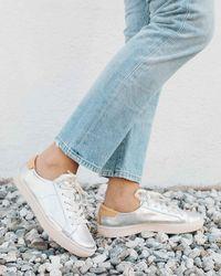 Soludos - Ibiza Metallic Sneaker - Lyst