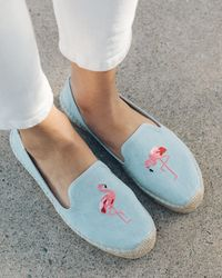 Soludos - Flamingo Platform Smoking Slipper - Lyst