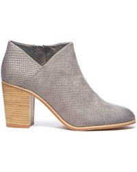 South Moon Under - Exotica Embossed Textured Bootie - Lyst