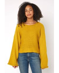 South Moon Under - Bb Talk Dropped Sweater - Lyst