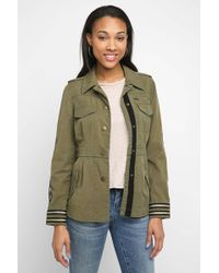 Plenty by Tracy Reese - Embroidered Utility Jacket - Lyst