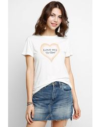 Mate - Love My Tribe Knit Tee - Lyst