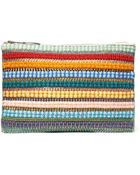 South Moon Under - Rhinestone Stripe Pouch - Lyst