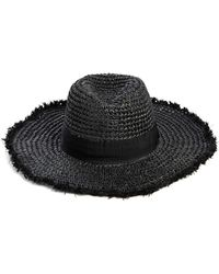 South Moon Under - Do Everything In Love Frayed Edges Solid Fedora - Lyst