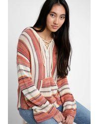Billabong - Baja Beach Striped Sweater - Lyst