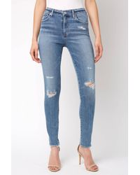 South Moon Under - Sophie Hi Rise In Beyond Skinny Jean - Lyst