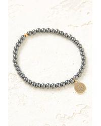 South Moon Under - Mini Girl Power Hematite Bliss Bracelet - Lyst