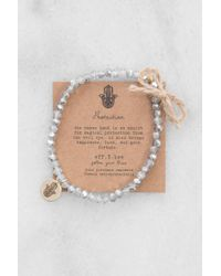 South Moon Under - Crystal Bliss Bracelet Silver - Lyst