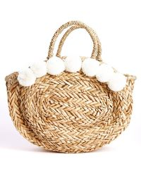 South Moon Under - Julia Pom Circle Tote - Lyst