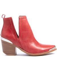 Jeffrey Campbell - Cromwell Western Cut Out Bootie - Lyst