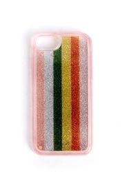 South Moon Under - Color Wheel Glitter Iphone Case Iphone 6/7 - Lyst