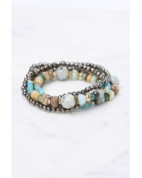South Moon Under - Hematite Amazon Multiway Bracelet - Lyst