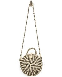 South Moon Under - Circle Straw Color Block Cross Body - Lyst