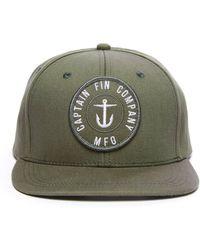 fc773e3c783 Lyst - Hat Attack Navy Felt Round Floppy Hat in Blue for Men