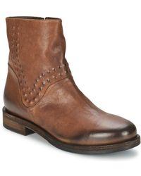 Vic Matié - Copenhagen Women's Mid Boots In Brown - Lyst