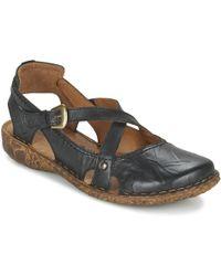 Josef Seibel - Rosalie 13 Women's Sandals In Black - Lyst
